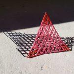 Geometrics with Shadows 2 (Pink)